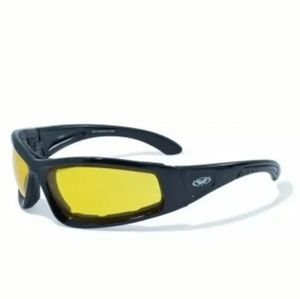 Large Motorcycle Cycling Motorbike Glasses Moped